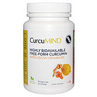 Advanced Orthomolecular Research AOR, Формула с куркумином, CurcuMind, 90 растительных капсул