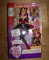 Кукла Ever After High Lizzie Hearts Лиззи Хартс перевыпуск базовая