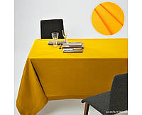 Скатерть Dralon с тефлоновым водоотталкивающим покрытием, цвет Желтый