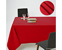 Скатерть Dralon с тефлоновым водоотталкивающим покрытием, цвет Красный