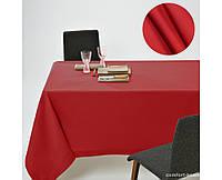 Скатерть Dralon с тефлоновым водоотталкивающим покрытием, цвет Красный Георгин