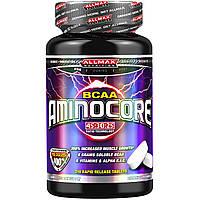 ALLMAX Nutrition, AminoCore, аминокислоты с разветвлённой цепью, 210 таблеток с быстрым высвобождением