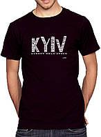 Kyiv- Футболка Мужская с Дизайном