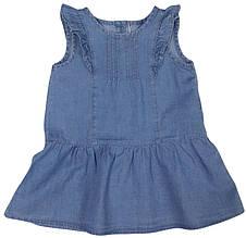 Платье джинсовое детское летнее  ТМ Бемби ПЛ171 размер 86