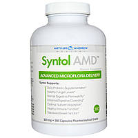 Arthur Andrew Medical, Syntol AMD, Advanced Микрофлора Доставка, 500 мг, 360 капсул