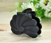 Краб для волос длина 6см черный К895-6