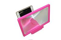 3D увеличитель экрана телефона Розовый корус