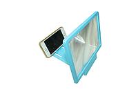 3D увеличитель экрана телефона Голубой корпус