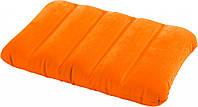 Intex 68676O (Оранжевая) Надувная подушка 3 вида