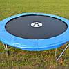 Батут с сеткой Atleto, 183 см +Металлическая лесенка, фото 6