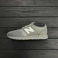 Кроссовки New Balance 247 Grey. Топ качество. Живое фото (нью бэланс, нью баланс)