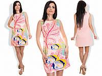 """Стильное молодежное платье мини """" Рыбки """" Dress Code"""
