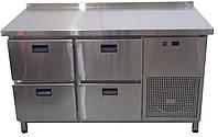 Оборудование для кафе - Холодильный стол 4ре выдвижных ящика