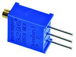 Резистор подстроечный 3296 200 кОм металлокерамика 25 оборотов выводные 0.5 Вт, фото 2
