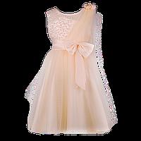Платье для девочки со шлейфом