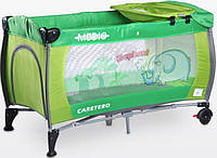 Манеж Caretero Medio Classic - green