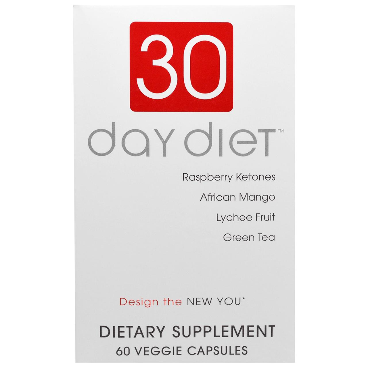 Creative Bioscience, 30-дневная диета, 60 вегетарианских капсул