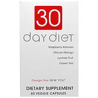Creative Bioscience, 30-дневная диета, 60 вегетарианских капсул, фото 1