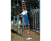 Лестницы и стремянки KRAUSE Диэлектрическая приставная лестница KRAUSE 10 ступеней