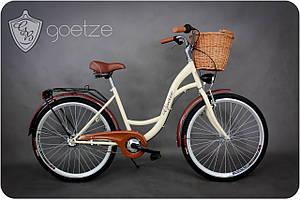 Велосипед 3-передачи GOETZE ECO 26 + фара и корзина в Подарок