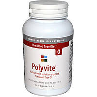 Dadamo, Polyvite, поливитамины для крови типа О, 120 капсул