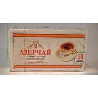 """Чай """"Азерчай"""" черный с бергамотом, 50 ф/п"""