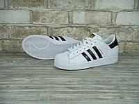 Кроссовки Adidas Superstar Supercolor Оригинал white/black/gold. Живое фото. Самовывоз 37