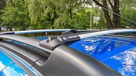 Багажник на рейлинги Aguri Prestige P-1 алюминиевый, не выступающий, 85см-90см