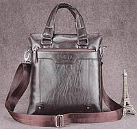 Брендовая мужская сумка Polo. Форамт А4.
