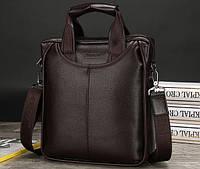Вместительная мужская сумка Simca. Размер 26-30-9