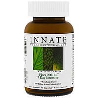 Innate Response Formulas, Флора 200-14, 7 дневная пробиотическая программа детоксикации, 7 капсул
