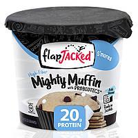 FlapJacked, Mighty Muffin, с пробиотиками, Сморес, 1,94 унции (55 г)