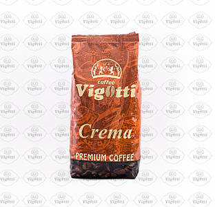 "Кава ""Vigotti Crema Coffee"" (Арабіка 50% / Робуста 50%)"