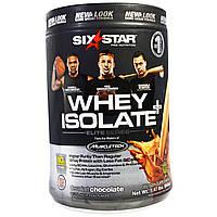 Six Star, Six Star Pro Nutrition, сывороточный изолят+ Плюс, элитная серия, изысканный шоколад, 1.47 фунта (668 г)