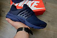 Кроссовки Nike Air Presto Blue. Живое фото. Топ качество! (Реплика ААА+)