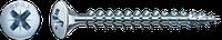 Саморізи Spax, Лінзова головка, шліц Pz, оцинкований, срібний