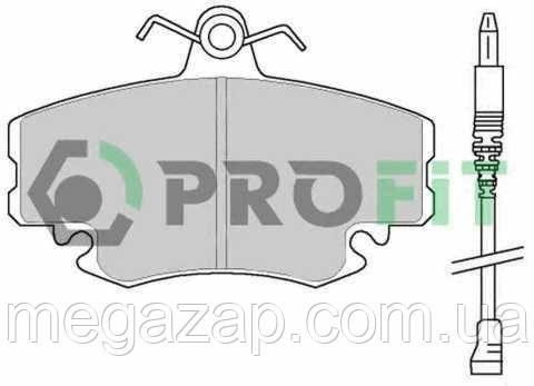 Колодки тормозные дисковые передние Dacia Logan 04-, Renault 19, 20, 21, 25 86-, Clio, Sandero, Megane 96