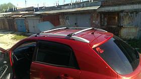 Багажник на рейлинги Aguri Prestige P-3 алюминиевый, не выступающий, 92.5-97.5см