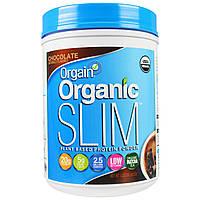 Orgain, Органический растительный белковый порошок для похудения, шоколад, 1,02 фунта (462 г)
