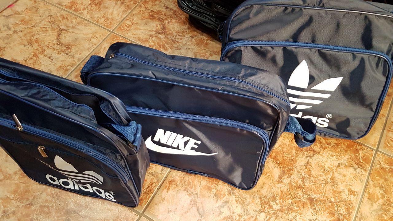 Сумка на плечо Nike, Adidas 35x30x10