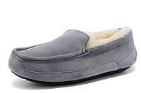 Мужские мокасины (угги оригинал) Ugg Ascot Grey
