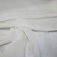 Гардина батист нежный крем в. 310 см с утяж.