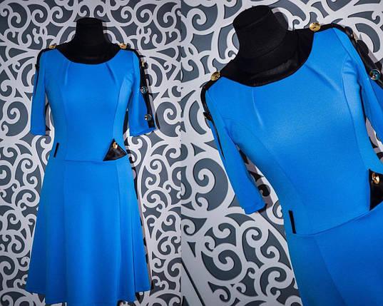Женские платья цвет морской волны 42 размер, фото 2