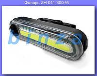 Фонарь велосипедный USB белый ZH-011-300-W,Фонарик на велосипед, Велосипедный фонарь