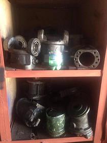 Стелажи участка по ремонту гидравлики