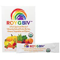 Madre Labs, ROY G BIV, концентрированный органический суперфуд, премиум-смесь, насыщенная нутриентами, без ГМО, вегетарианская, 30 пакетиков, по 3 г
