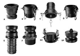 Камлоки полипропиленовые БРС (CAM-Lock)