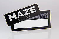"Бейдж с окном ""Maze"", фото 1"
