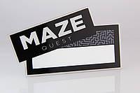 """Бейдж с окном """"Maze"""""""