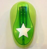 Дырокол фигурный для детского творчества CD-99L №25 Звезда